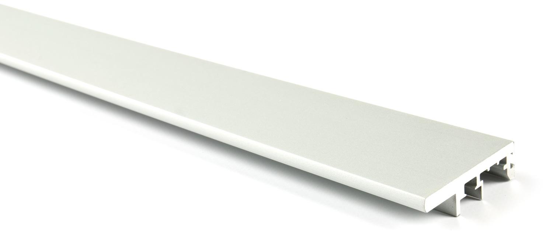 Вертикальный профиль-ручка для Glow (3м) серебро